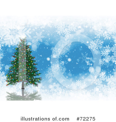 Christmas Tree Clipart #72275 by KJ Pargeter