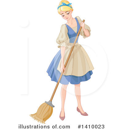 Cinderella Clipart 1410023 Illustration By Pushkin