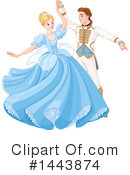 Cinderella Clipart #1443874 by Pushkin