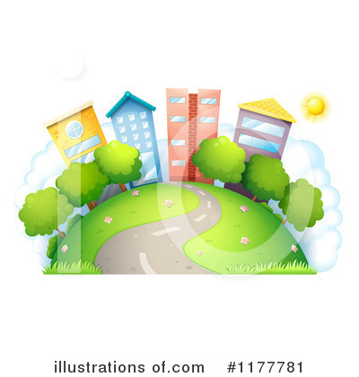 Urban Clipart #1177781 by Graphics RF