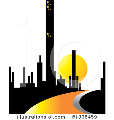 Sunset Clipart #1306459 by Lal Perera