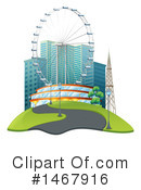 City Clipart #1467916 by Graphics RF