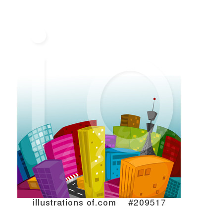 City Clipart #209517 - Illustration by BNP Design Studio