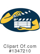 Clapperboard Clipart #1347210 by patrimonio