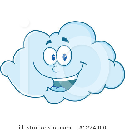 Cloud Clipart #1224900 - Illustration by Hit Toon