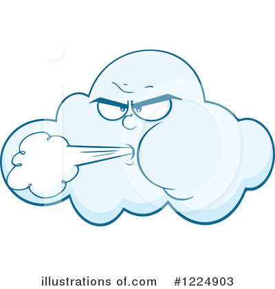 Cloud Clipart #1224903 - Illustration by Hit Toon