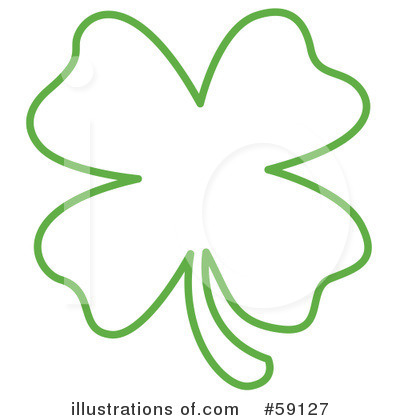 Clover Clipart #59127 - Illustration by Andy Nortnik