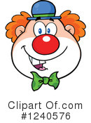 Clown Clipart #1240576 by Hit Toon