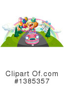 Clown Clipart #1385357 by Graphics RF