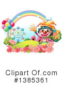 Clown Clipart #1385361 by Graphics RF