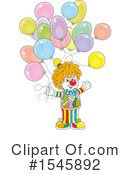 Clown Clipart #1545892 by Alex Bannykh