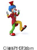 Clown Clipart #1711736 by Julos
