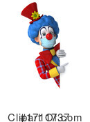 Clown Clipart #1711737 by Julos