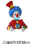 Clown Clipart #1711738 by Julos