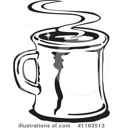 Royalty-Free (RF) Coffee Clipart Illustration by Andy Nortnik - Stock Sample #1163513