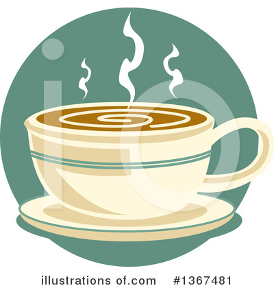 Coffee Clipart #1367481 by Andy Nortnik