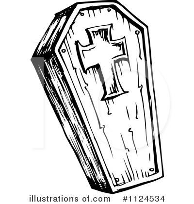 coffin clipart #1124534 - illustrationvisekart