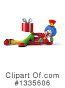 Colorful Clown Clipart #1335606 by Julos