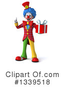 Colorful Clown Clipart #1339518 by Julos