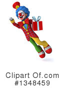 Colorful Clown Clipart #1348459 by Julos
