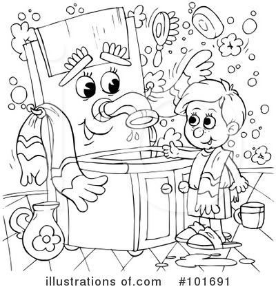 excellent coloring page clipart by alex bannykh with royalty free coloring pages