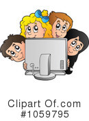 Computer Clipart #1059795 by visekart