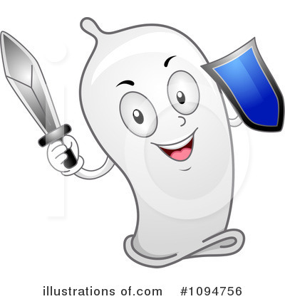 Condom Clipart #1094756 by BNP Design Studio