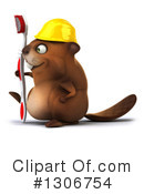 Construction Beaver Clipart #1306754 by Julos
