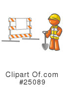 Construction Clipart #25089 by Leo Blanchette