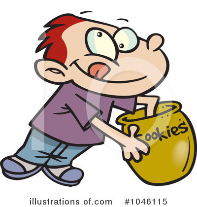 Cookie Jar Clipart #1046115 by toonaday