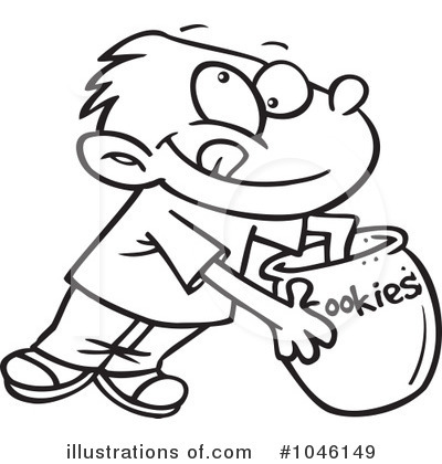 Cookie Jar Clipart #1046149 by toonaday