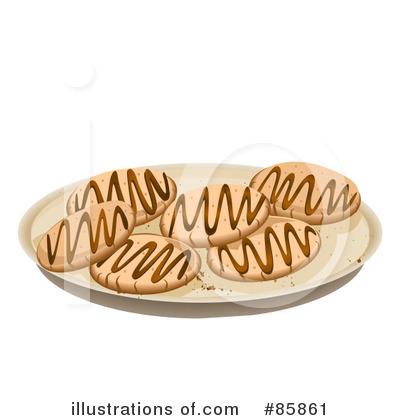 Cookies Clipart #85861 - Illustration by BNP Design Studio