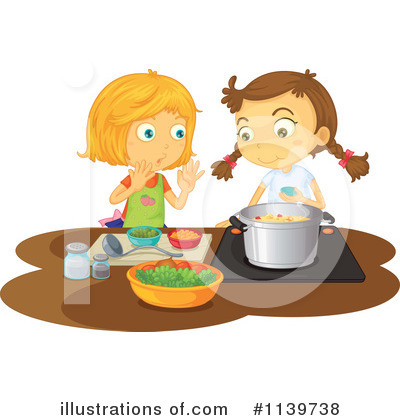 Cooking Clipart #1139738 - Illustration by colematt