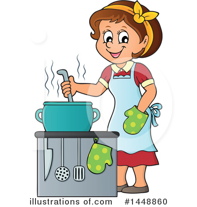Kitchen Clipart #1448860 by visekart