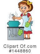 Cooking Clipart #1448860 by visekart