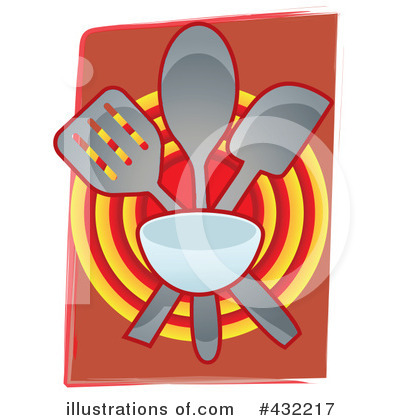 Cook Book Clipart #432217 by mheld
