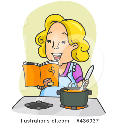 Cook Book Clipart #436937 by BNP Design Studio