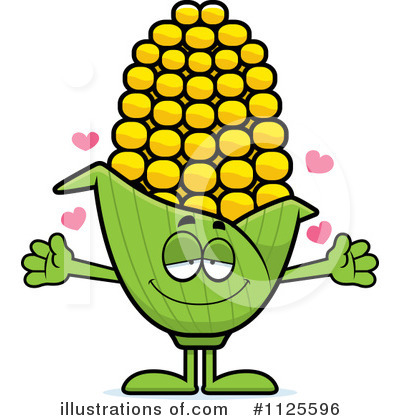 Corn Clipart #1125596 - Illustration by Cory Thoman