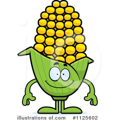 Corn Clipart #1125602 - Illustration by Cory Thoman