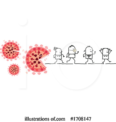 Coronavirus Clipart #1708147 by NL shop