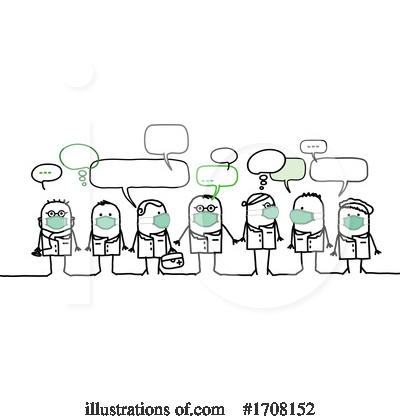 Coronavirus Clipart #1708152 by NL shop