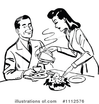 Couple Clipart #1112576 by Prawny Vintage