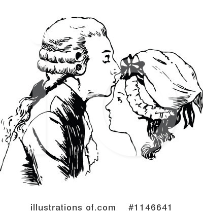 Couple Clipart #1146641 by Prawny Vintage