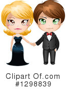 Couple Clipart #1298839 by Liron Peer