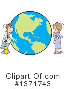 Couple Clipart #1371743 by Johnny Sajem