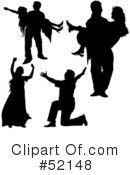 Lovers Clipart #1118790 - Illustration by dero
