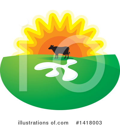 Sunset Clipart #1418003 by Lal Perera