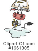 Cow Clipart #1661305 by toonaday
