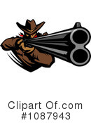 Cowboy Clipart #1087943 by Chromaco