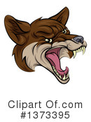 Coyote Clipart #1373395 by AtStockIllustration